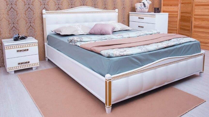 Кровать Прованс (спинка квадраты) 1,8
