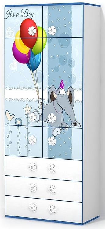 Детский шкаф Elephant (Слоник)