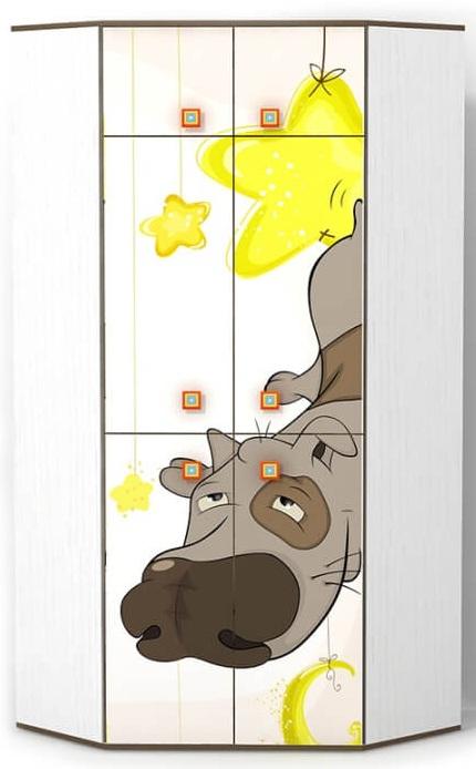 Детский шкаф Joy угловой