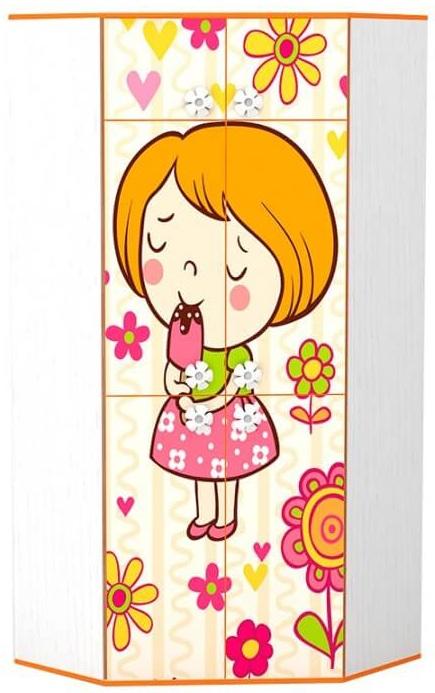 Детский шкаф Mandarin угловой