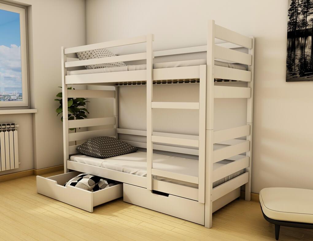 Двухъярусная кровать Амели 0,9