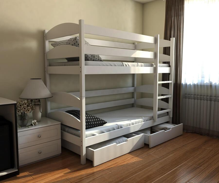 Двухъярусная кровать Лаки 0,9
