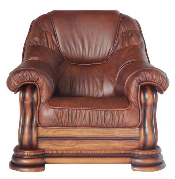 Кресло Гризли (кожа)