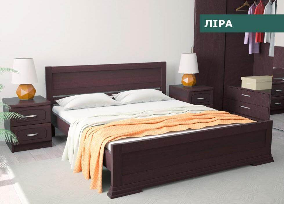 Кровать Лира 1,6