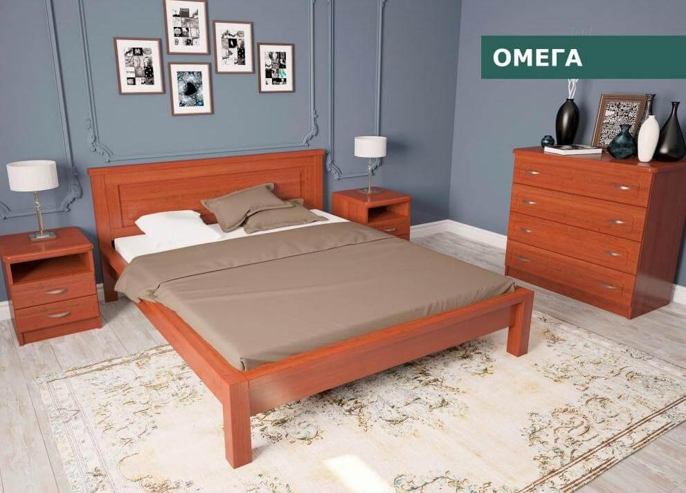 Кровать Омега 1,6