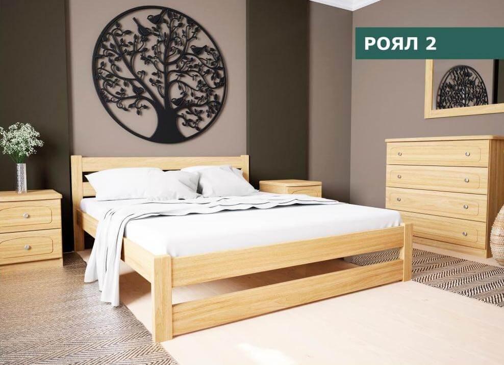Кровать Роял 2 (1,6)