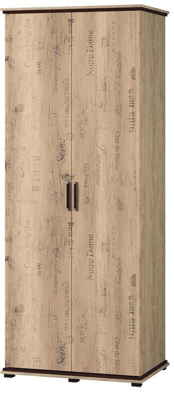 Шкаф 2-х дверный Палермо 2Д (2.0)