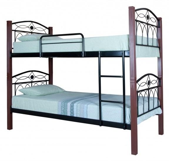 Двухъярусная кровать Элизабет 0,9
