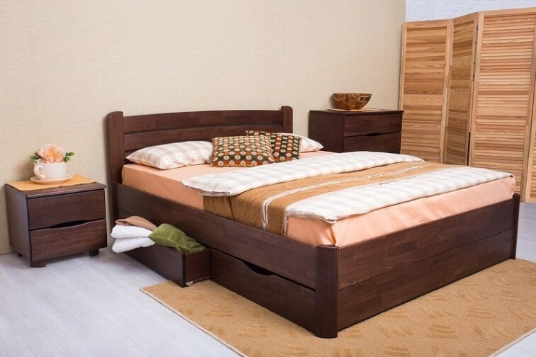 Кровать София 1,6 V (с ящиками)