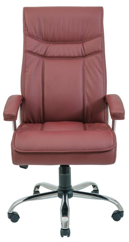 Офисное кресло Бургас (хром)