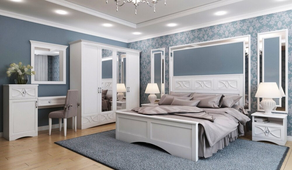 Спальный гарнитур Бланка 1