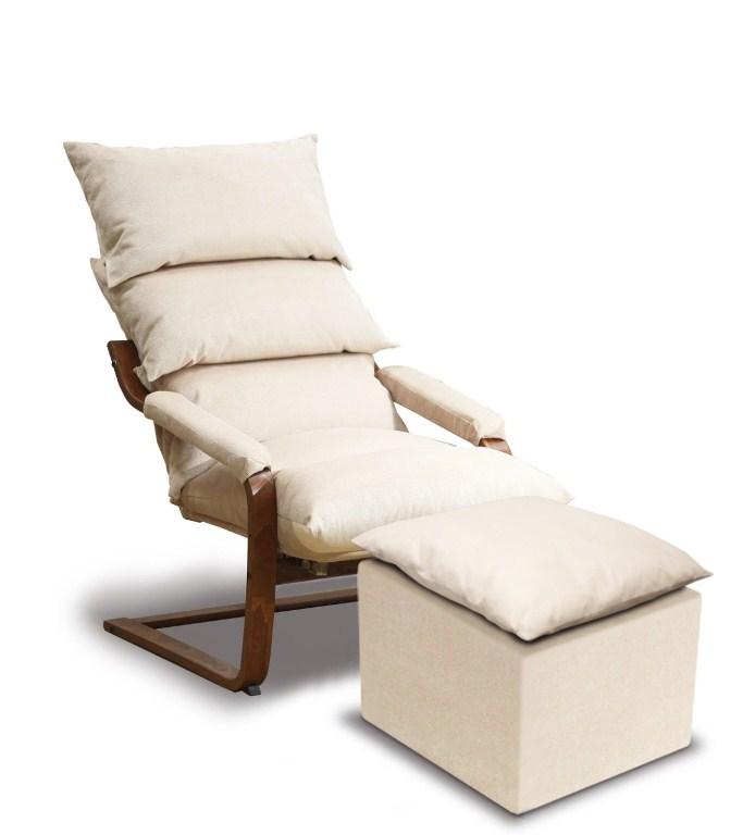 Кресло - качалка Стандарт с пуфом
