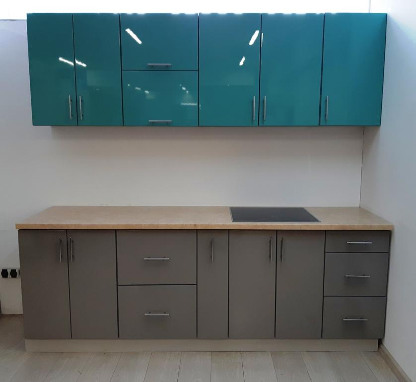 Кухня модульная Гламур (краска)