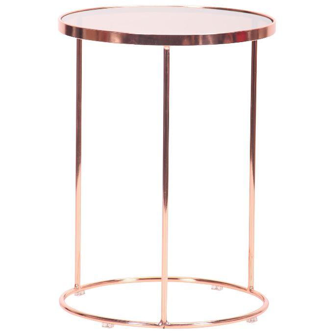 Журнальный стол Kalibri rose gold