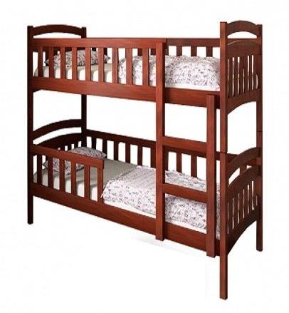 Двухъярусная кровать Белоснежка 0,9