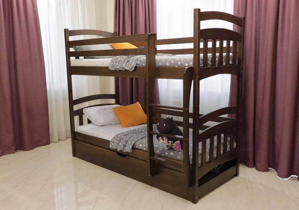 Двухъярусная кровать Бемби 0,9 (пм)