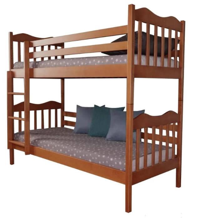 Двухъярусная кровать Маугли 0,9