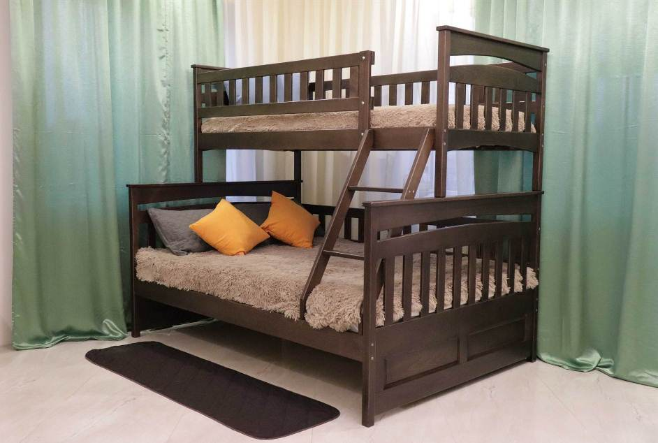 Двухъярусная кровать Русалочка (0,9х1,2)