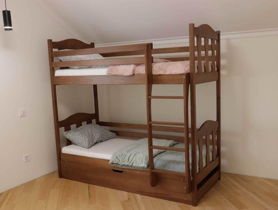 Двухъярусная кровать Сонька 0,9 (пм)