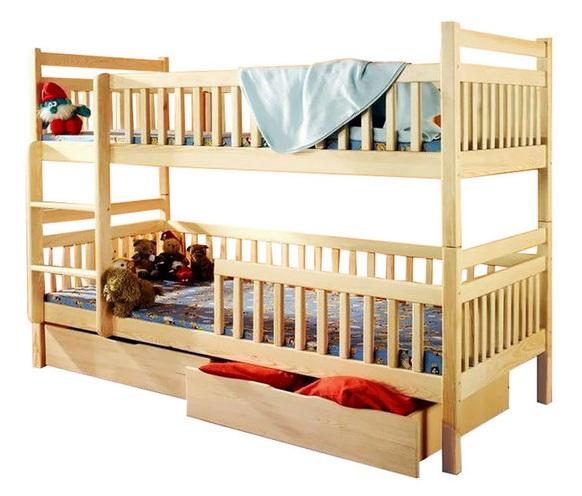 Двухъярусная кровать Том и Джерри 0,8