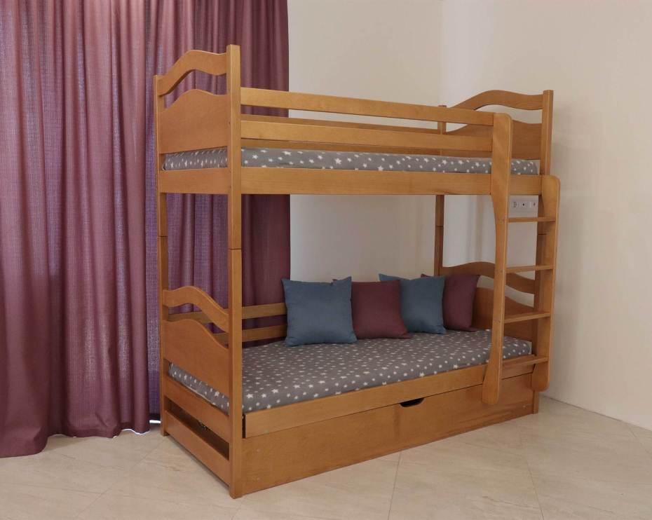 Двухъярусная кровать Винни Пух 0,9 (пм)