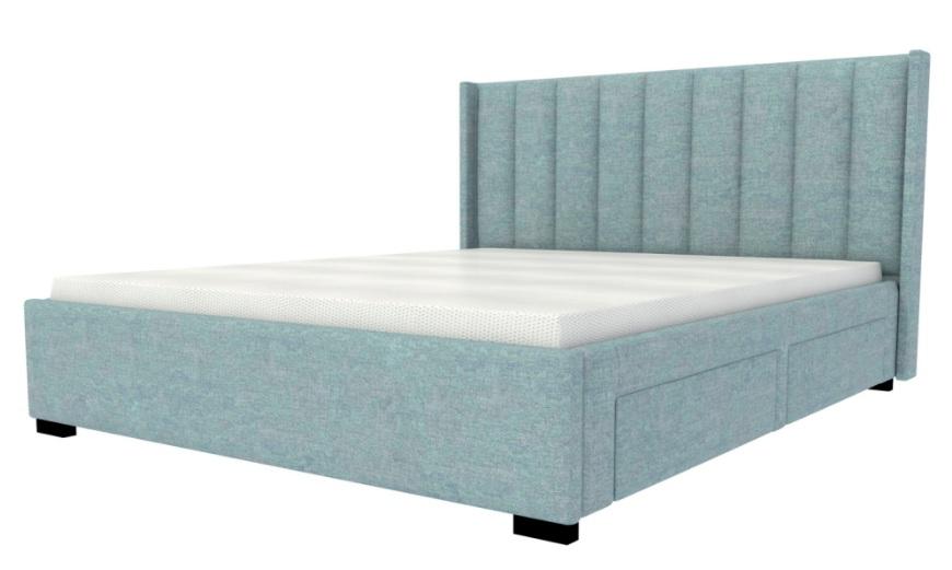 Кровать L 011