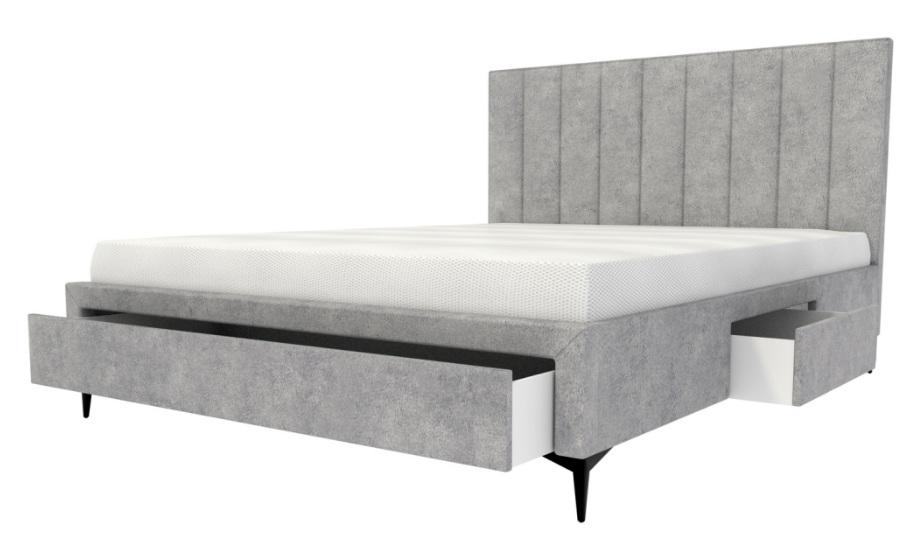Кровать L 012